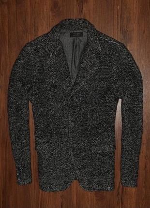 Zara wool jacket мужской пиджак