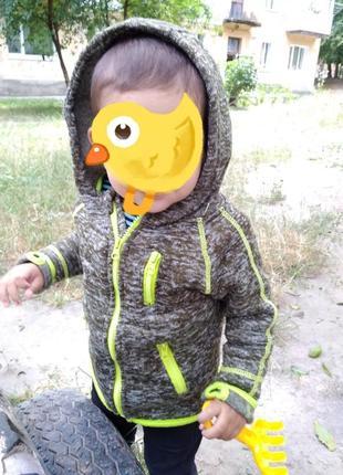 Модная фирменная кофта на мальчика3 фото