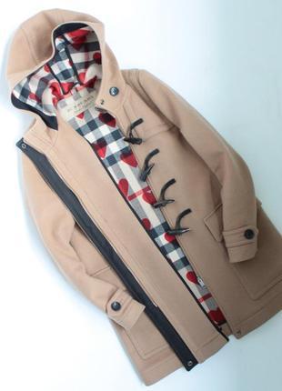 Burberry wool duffle coat женское пальто оригинальное барбери