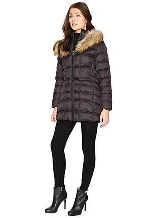 Betsey johnson оригинал зимняя куртка парка черная
