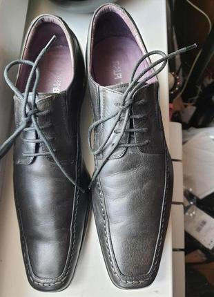 Мужские кожаные туфли ralph boston 42 made in italy