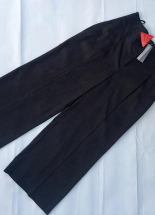 Брюки кюлоты с высокой посадкой,укороченные брюки south