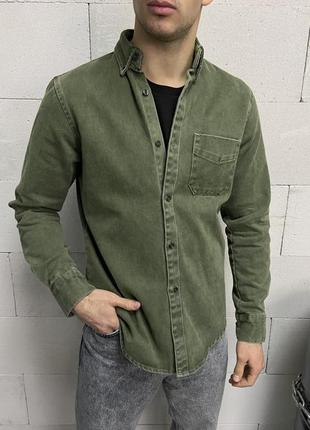 Джинсовка сорочка