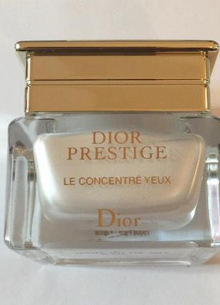 Dior крем для глаз dior prestige le concentre yeux. оригинал. тестер.