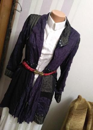 Легкая накидка блуза жакет  этно бохо стиль