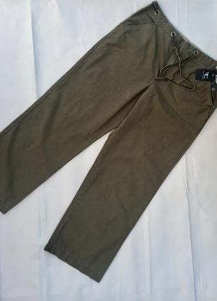 Классные коттоновые брюки