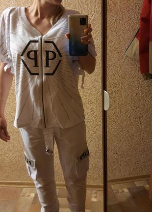 Спортивный костюм на лето philipp plain,размер s-м