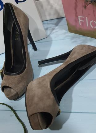 Туфли с открытым носом, босоножки guess 36 размер/23,5 cm