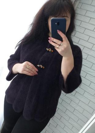Курточка кардиган пальто с шерстью альпаки турция