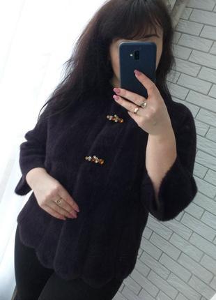 Кардиган курточка пальто с шерстью альпаки турция