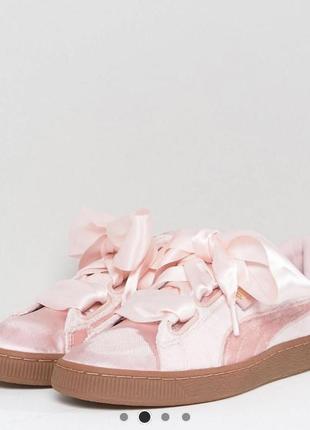 Новые велюровые кроссовки puma