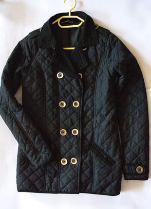 Универсальная стеганая куртка с вельветовыми вставками