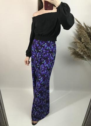 Стильные брюки палаццо