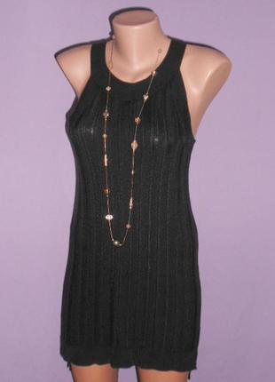 Стильное платье-туника 10 размера