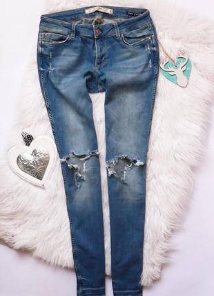 Крутые рваные джинсы colin's размер м