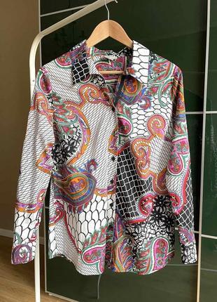 Потрясающая блуза из батиста mona винтаж