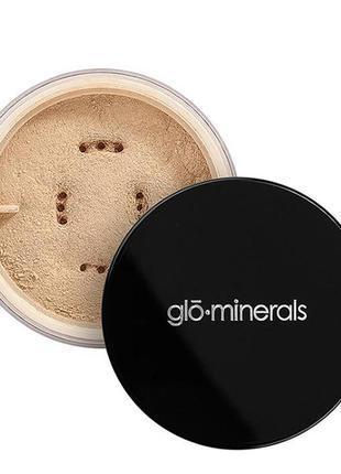 Минеральная пудра glominerals loose base (оттенок honey medium)