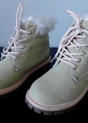 Брендовые ботинки miss fiori  36 размера в прекрасном состоянии. супер качество