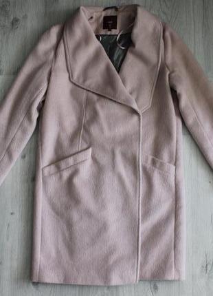 Продам крутое пальто oversize,нежно -розового цвета от фирмы next