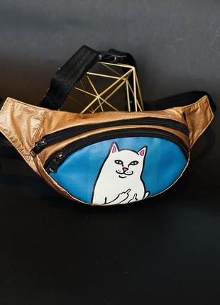 Кот бананка, барыжка, барсетка, сумка на пояс