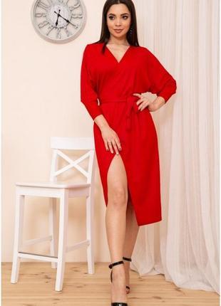 Платье-халат с коротким рукавом