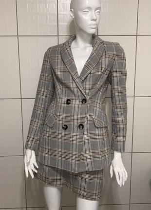 Костюм пиджак, жакет , с юбкой, костюм  нарядный
