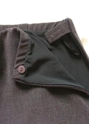 Трендовые широкие брюки на высокой талии marks & spencer