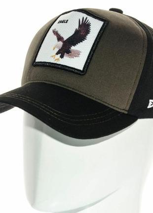 Бейсболка кепка с животным с изображением орла eagle  мужская женская разные цвета