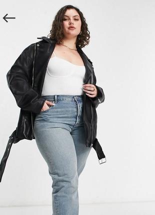 Женская куртка косуха большого размера