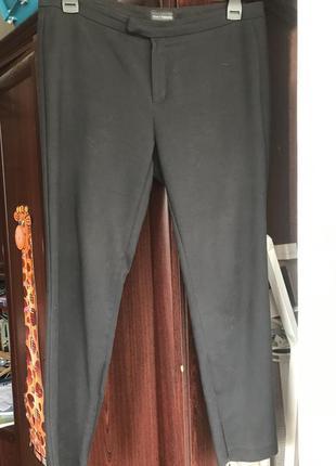 Отличные классические брюки высокая посадка и зауженый низ