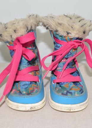 Зимние сапожки ботинки diadora 21р