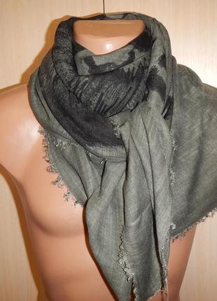 Легкий мужской шарф платок diesel