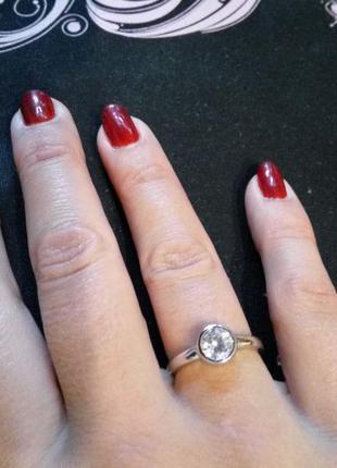Интересное нежное колечко кольцо каблучка . размер 16