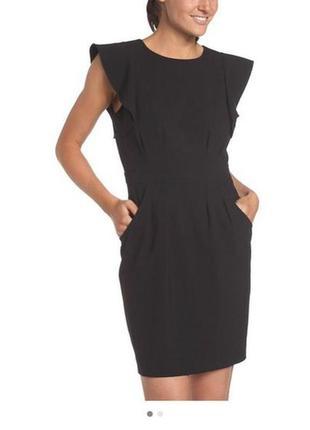 Универсальное маленькое черное платье от kenneth cole, р. амер.6, s-м