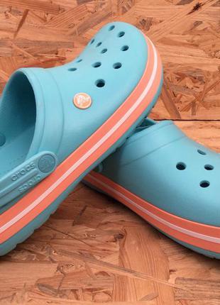 Аквашузы для женщин крокс сабо crocs crocband размер m9w11