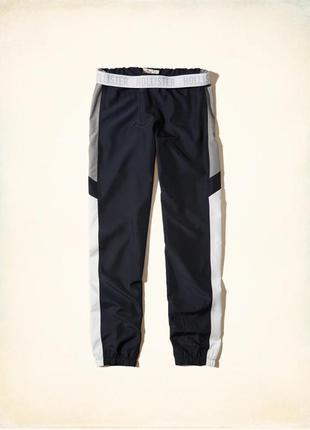 Сша. hollister. легкие летние молодежные спортивные штаны. ткань плащевка. m.