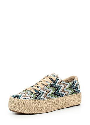 Новые кеды на платформе keddo. женские криперсы, кроссовки на плетеной подошве