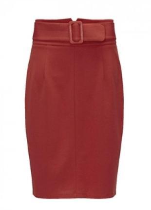 Стильна юбка-карандаш великого розміру