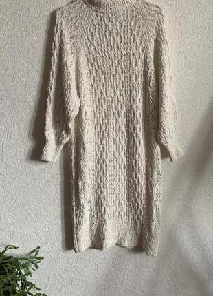 Вязаное платье летнее
