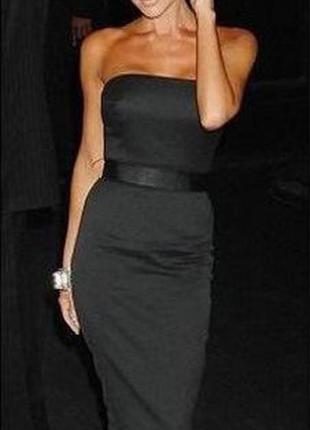 Очень крутое платье-бюстье. виктория бекхэм .