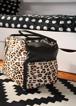 Дорожная кожаная сумка2 фото