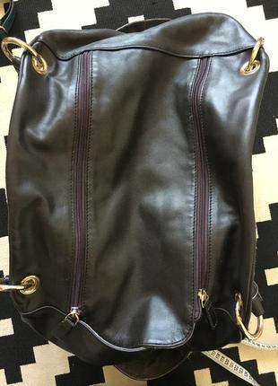 Дорожная кожаная сумка8 фото