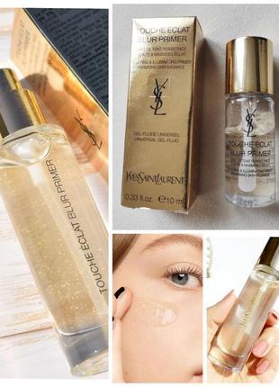 База под макияж /праймер с золотом yves saint laurent touche eclat blur primer