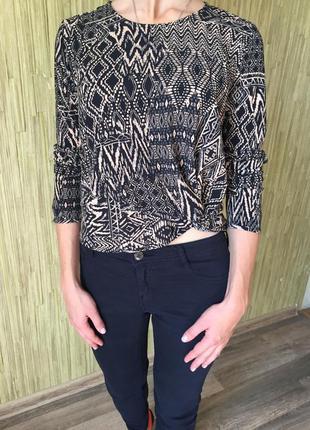 Крутая блуза bershka