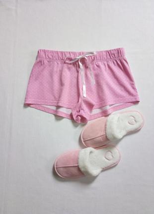 Пижамные шорты нежно розового цвета