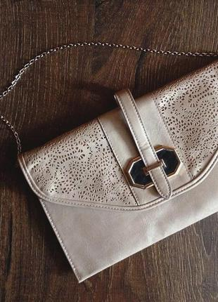 Очень элегантный, красивый клатч (сумочка) на цепочке