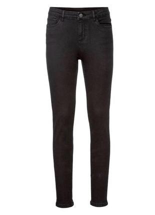 Женские тёмно-серые джинсы esmara by heidi klum