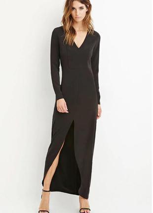 Новое платье в пол forever 21