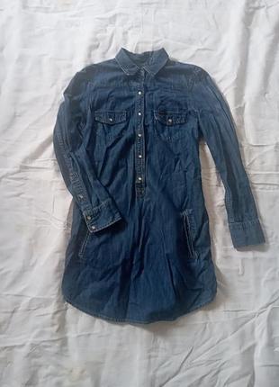 Жіноча джинсова рубашка