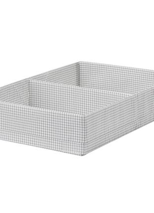 Коробка для хранения с отделениями, 34x51x10 см